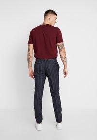 Topman - SHERB  CROP - Pantaloni - blue - 2