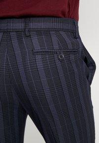 Topman - SHERB  CROP - Pantaloni - blue - 3