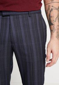 Topman - SHERB  CROP - Pantaloni - blue - 5
