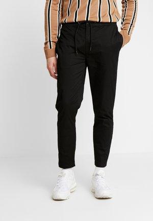 WHYATT - Kalhoty - black