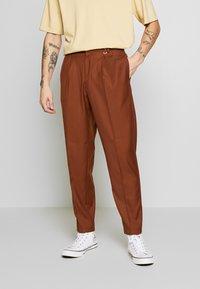 Topman - SOUTHDOWN - Kalhoty - camel - 0