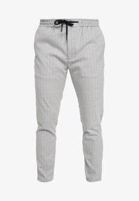 Topman - STRIPE WHYATT - Pantaloni - grey - 3
