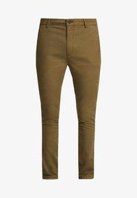 Topman - CHINO - Pantalones chinos - green - 4