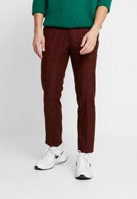 Topman - FIREFLY WIND - Spodnie materiałowe - red - 0