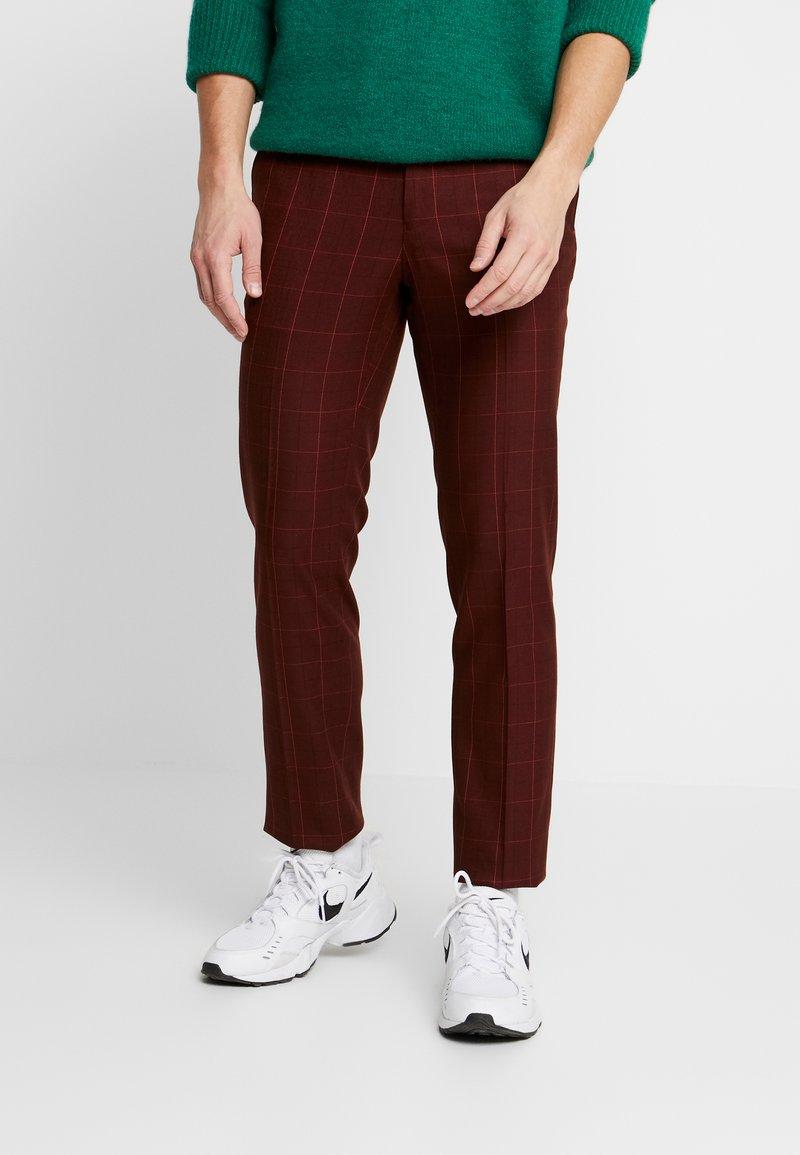 Topman - FIREFLY WIND - Spodnie materiałowe - red