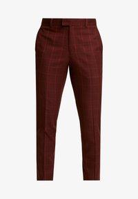 Topman - FIREFLY WIND - Spodnie materiałowe - red - 3