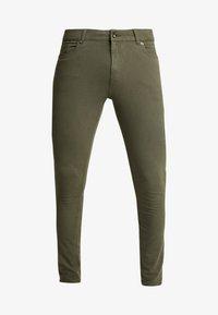 Topman - SPRAY ON - Kalhoty - khaki - 4