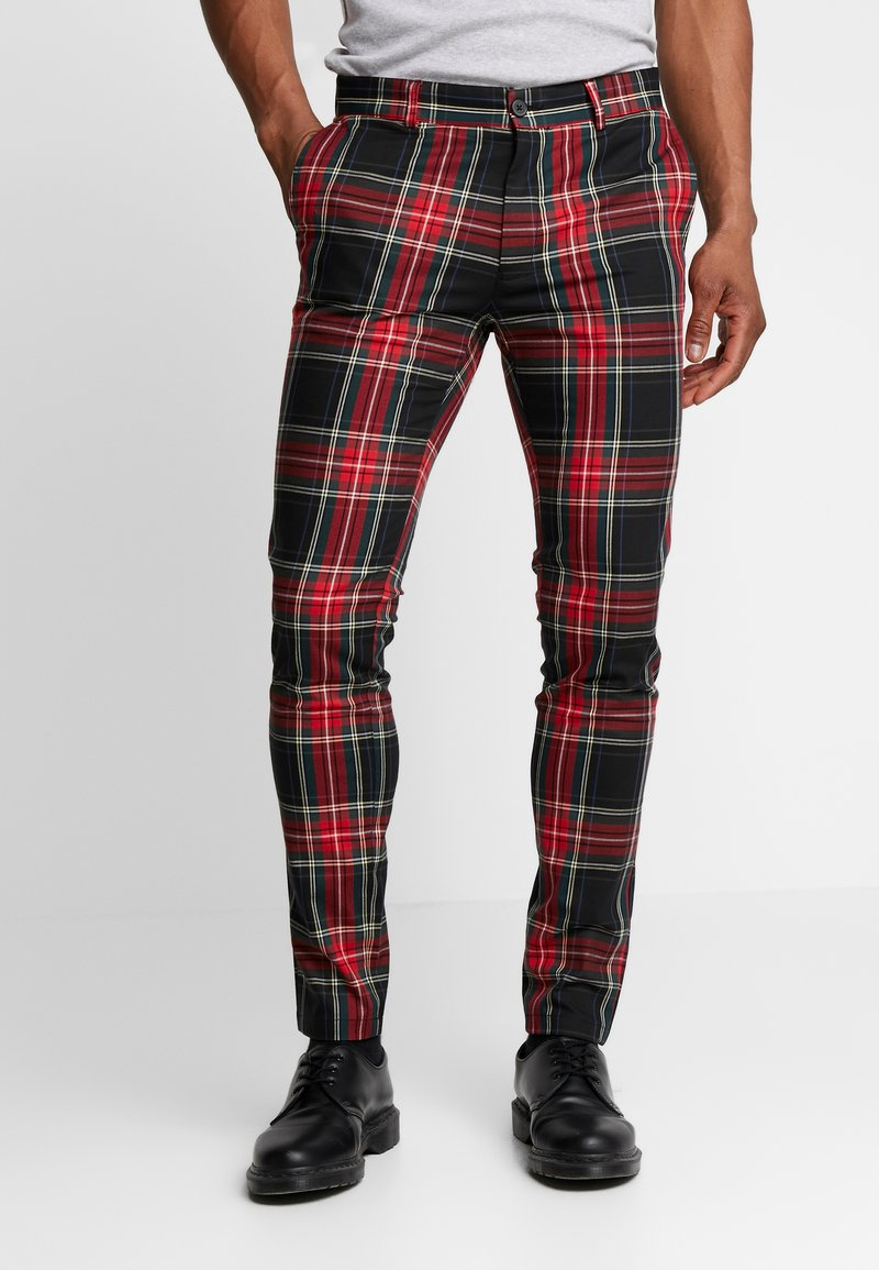 Topman - Trousers - red