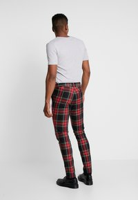 Topman - Trousers - red - 2