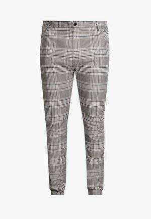 CHECK - Pantaloni - grey