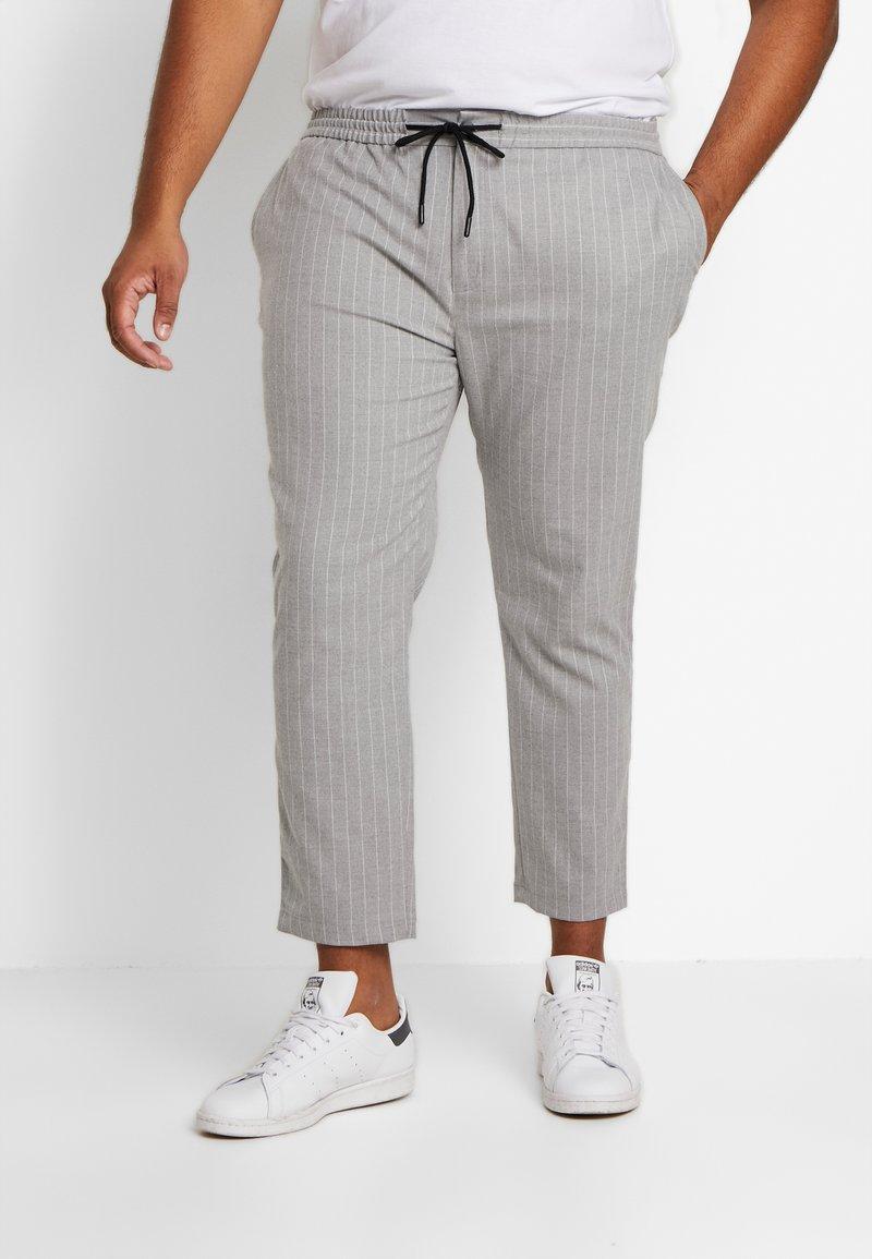 Topman - WHYATT - Trousers - grey