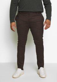 Topman - HERITAGE CHECK - Trousers - multi - 0