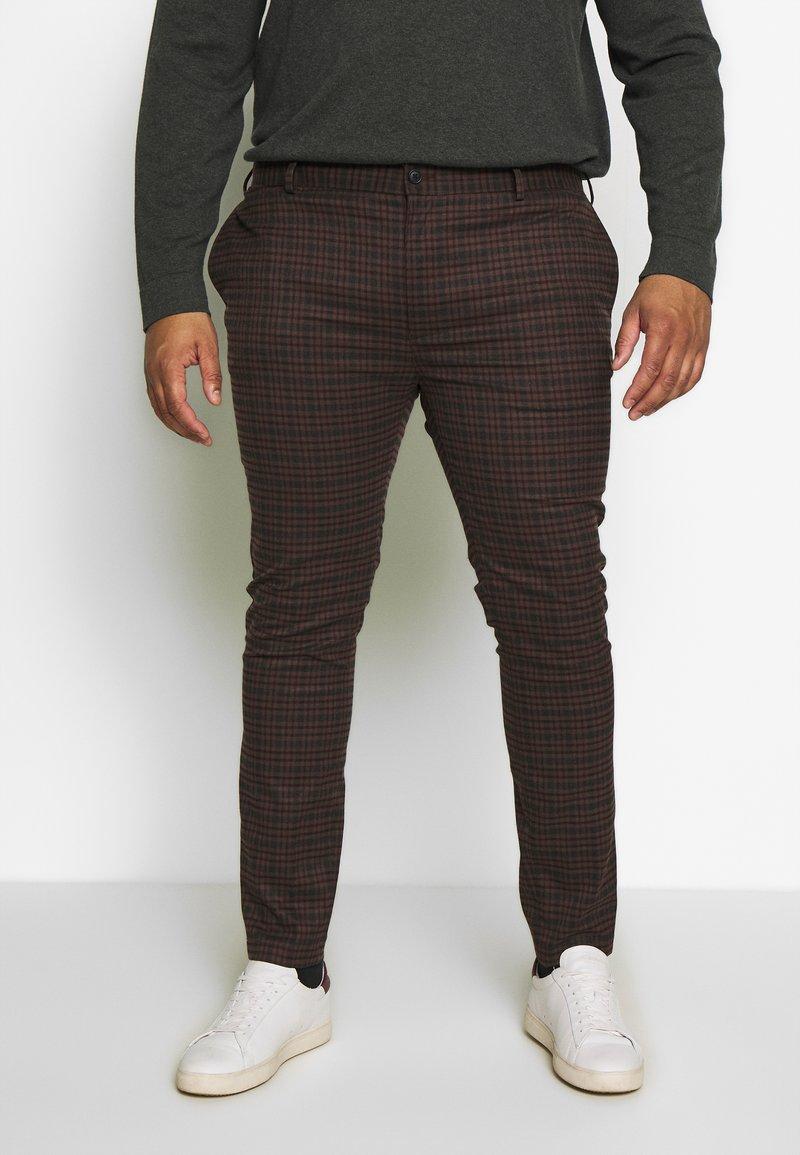 Topman - HERITAGE CHECK - Trousers - multi