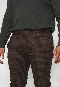 Topman - HERITAGE CHECK - Trousers - multi - 3