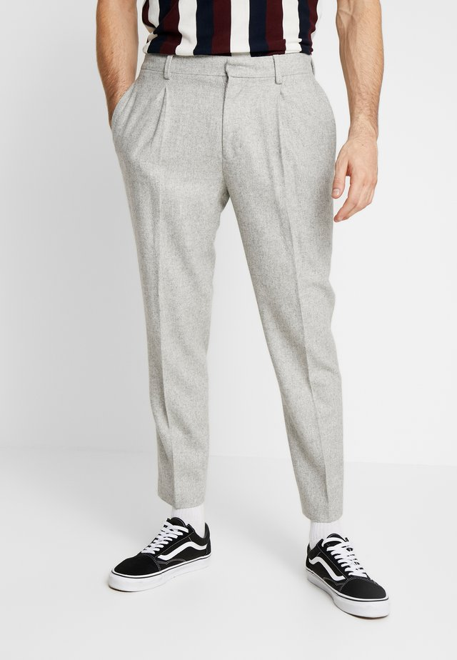PREMIUM WARM HANDLE TROUSER - Pantaloni - grey
