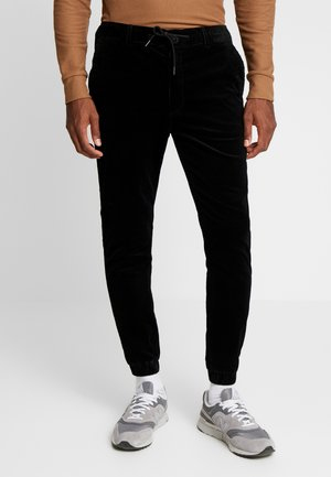 CUFFED JOGGER - Pantaloni - black
