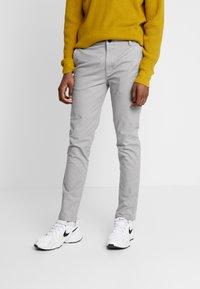 Topman - SLIM - Chino kalhoty - grey - 0
