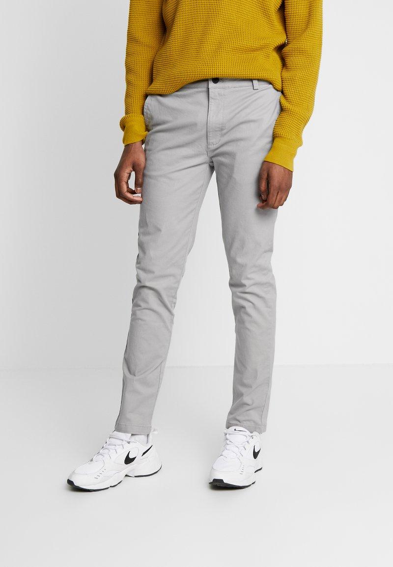 Topman - SLIM - Chino kalhoty - grey
