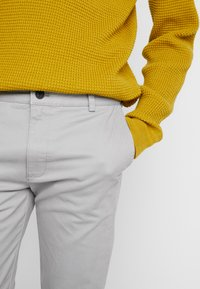 Topman - SLIM - Chino kalhoty - grey - 3