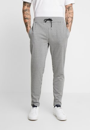 DOGTOOTH - Verryttelyhousut - black/white
