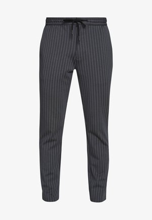 STRIPE WHYATT - Trousers - charcoal