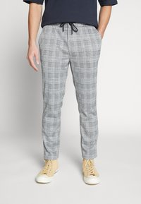 Topman - WHYATT - Pantaloni - grey - 0