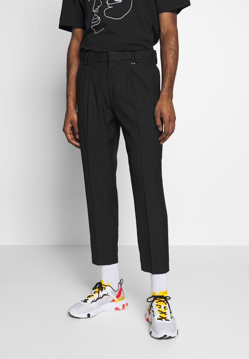 Topman - FASH SOUTHDOWN - Kalhoty - black