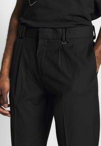 Topman - FASH SOUTHDOWN - Kalhoty - black - 4