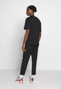 Topman - FASH SOUTHDOWN - Kalhoty - black - 2