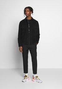 Topman - FASH SOUTHDOWN - Kalhoty - black - 1