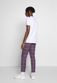 Topman - CHECK WHYATT - Trousers - lilac - 2