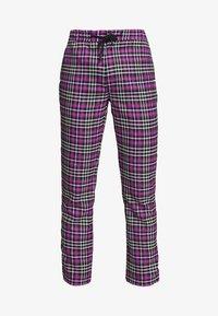 Topman - CHECK WHYATT - Trousers - lilac - 3