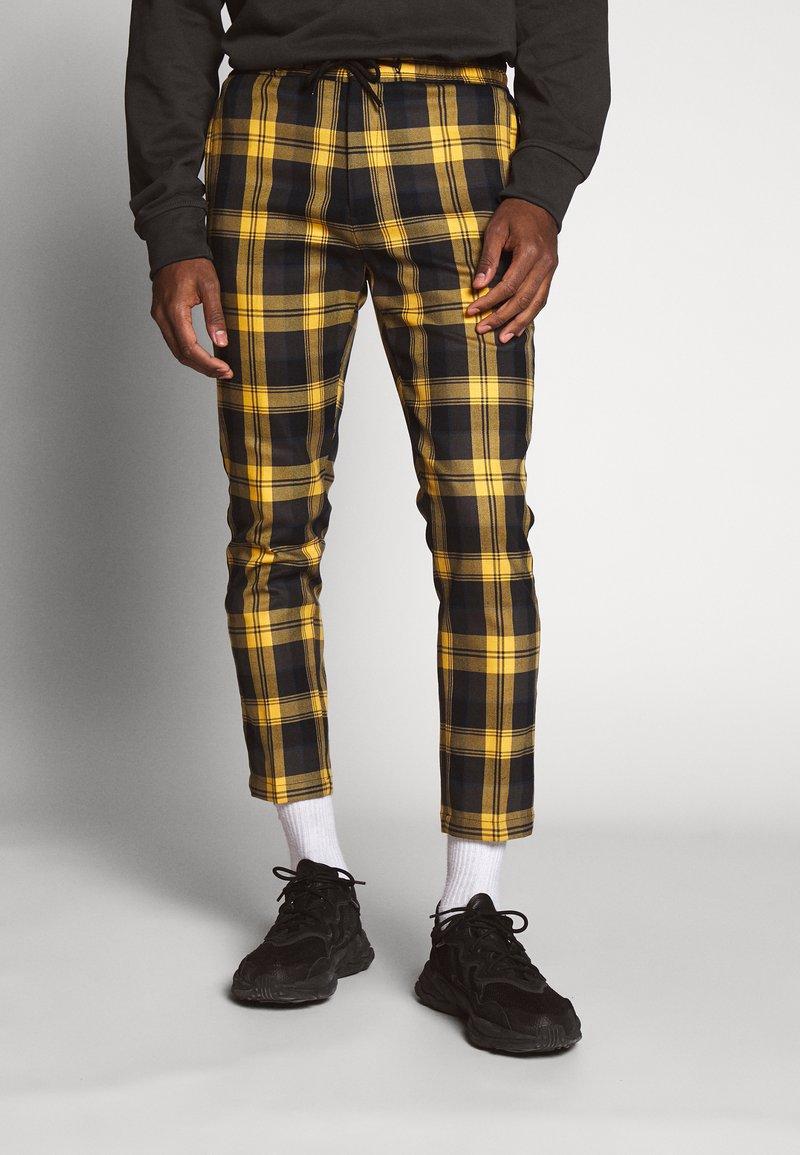 Topman - CHECK WHYATT - Kalhoty - multi-coloured