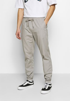 PAPER TOUCH CUFFED - Trainingsbroek - gray