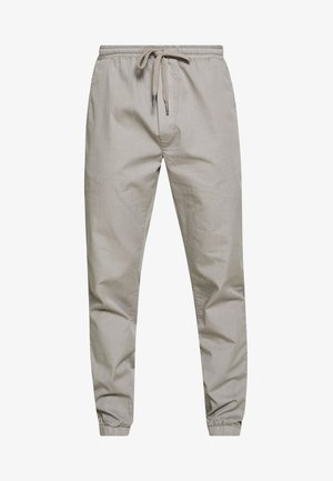PAPER TOUCH CUFFED - Trousers - gray