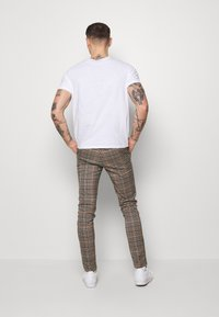 Topman - LARGE SCALE - Stoffhose - brown - 2