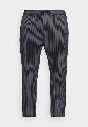 STRIPE WHYATT - Kalhoty - dark blue/white