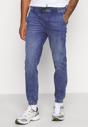 JOGGERS - Džíny Slim Fit - mid wash