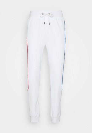 PRIMARY PIPED - Tracksuit bottoms - white
