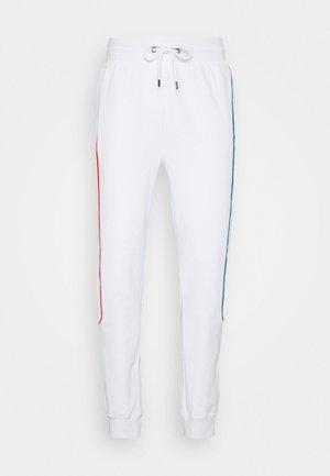 PRIMARY PIPED - Teplákové kalhoty - white