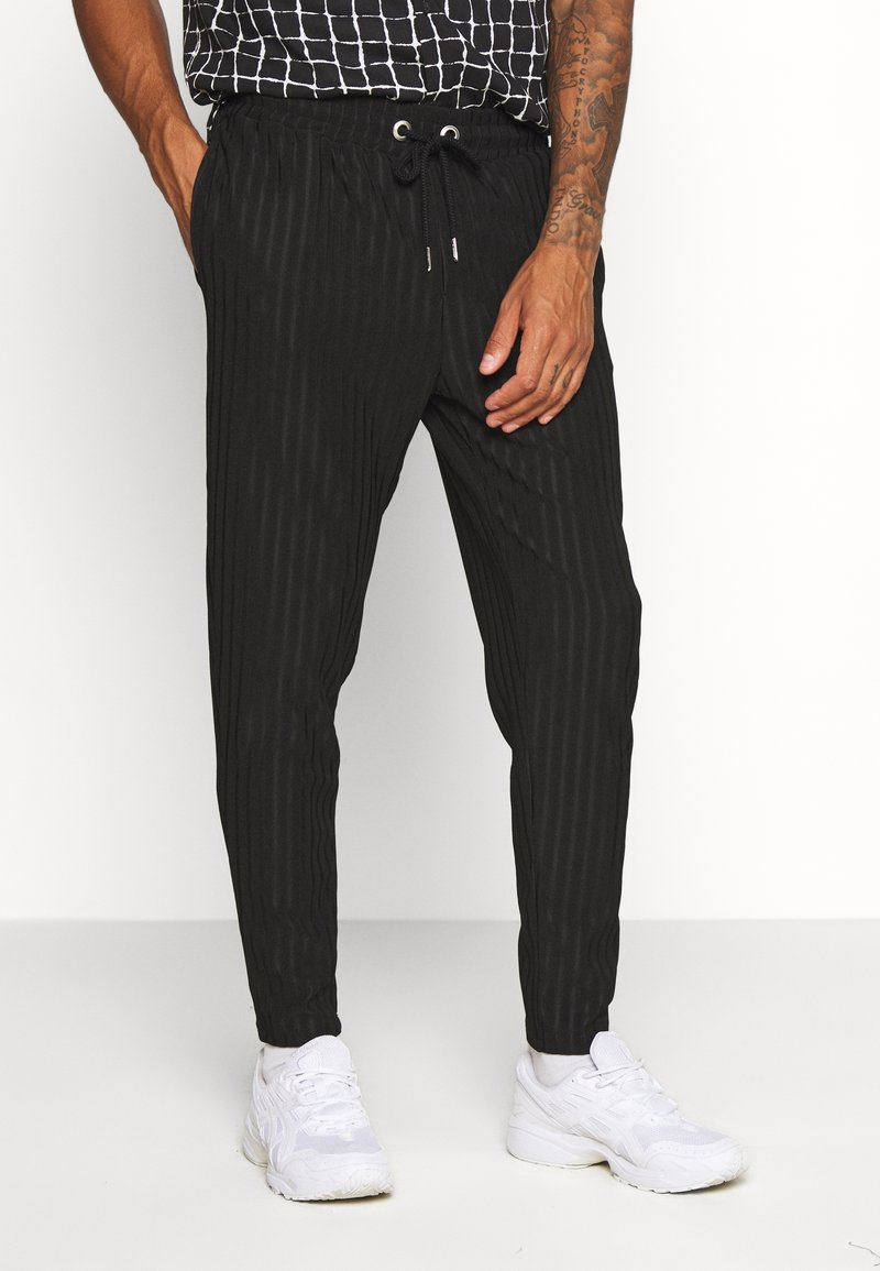 Topman - Pantaloni sportivi - black