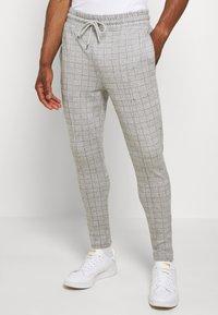 Topman - JOGGER - Pantaloni - grey - 0