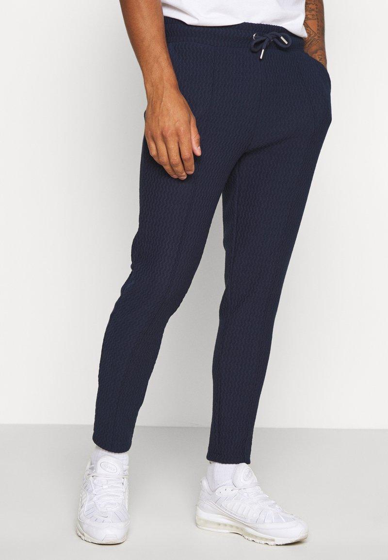 Topman - Pantaloni sportivi - navy