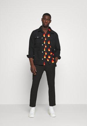2 PACK - Pantaloni - black/grey