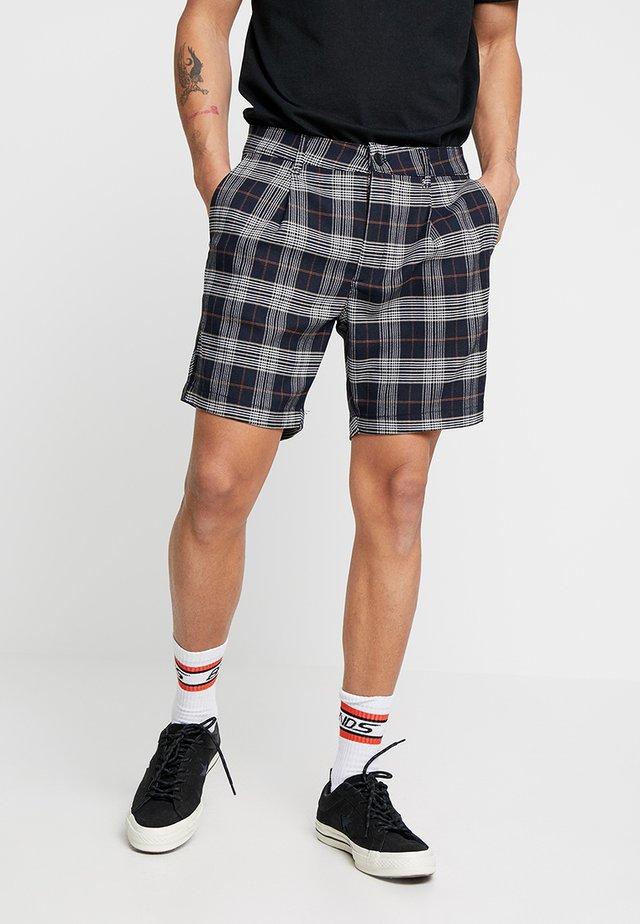 CHECK PULL ON - Shorts - navy