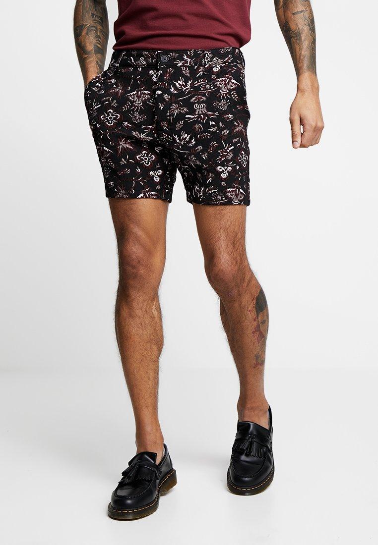 Topman - TAPESTRY - Shorts - black