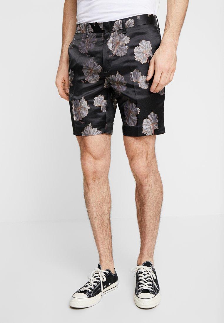 Topman - FLORAL - Shorts - mono