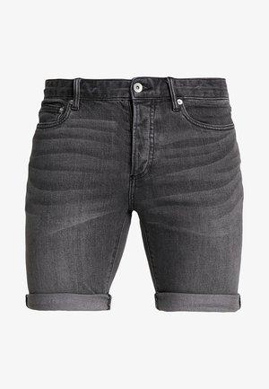 CHARLIE  - Short en jean - washed black