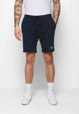 LEOPARD SIGNATURE - Pantalon de survêtement - dark blue