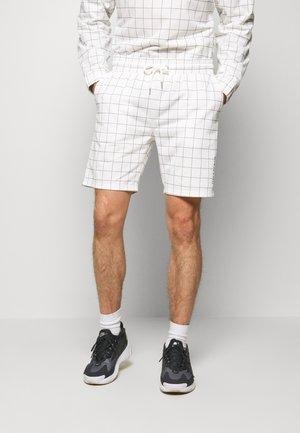 WINDOWPANE - Pantaloni sportivi - white